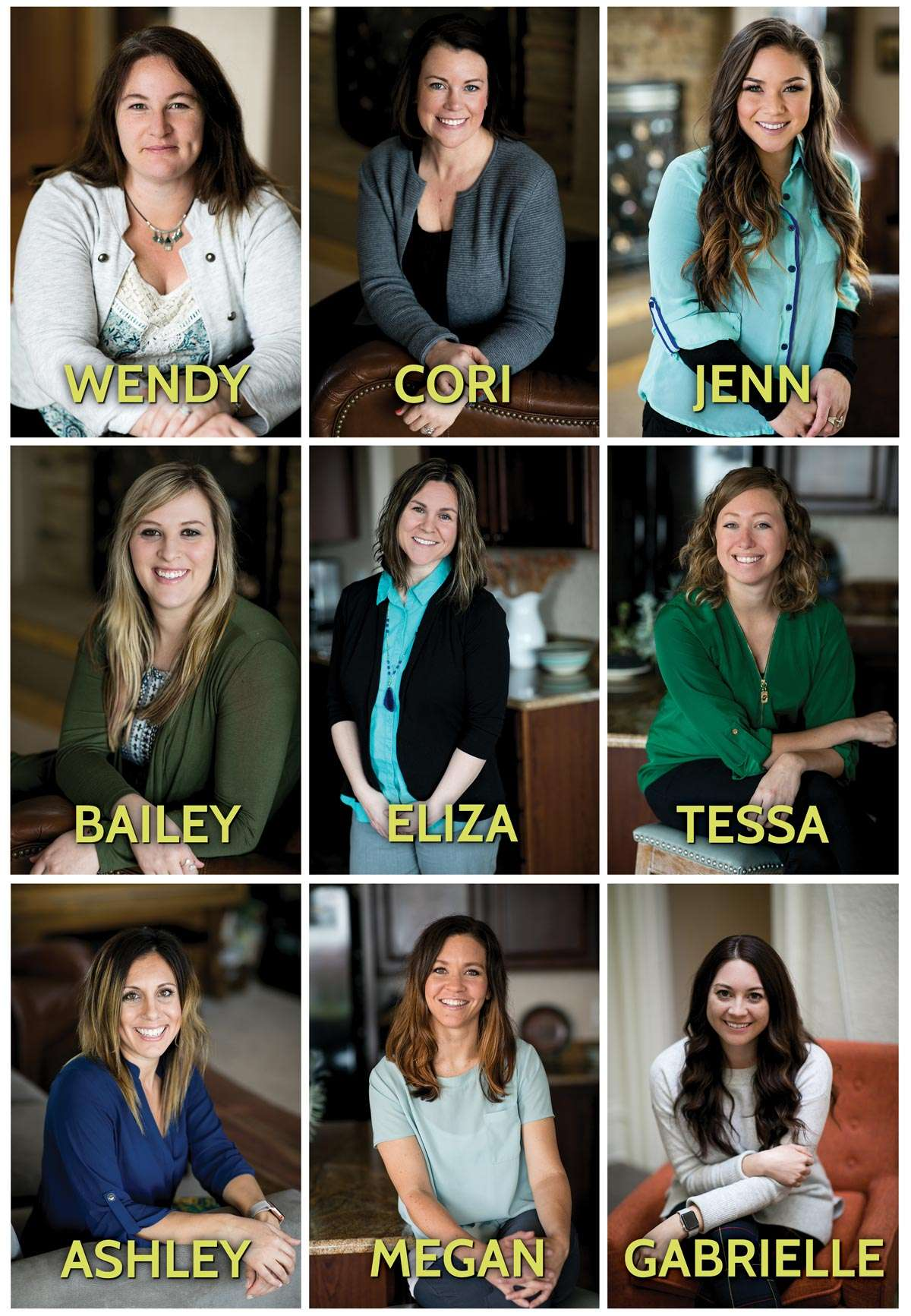 Photos of LIV Health's Case Managers